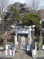 三月の神社
